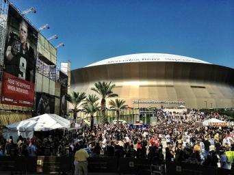Champions Square Pre Game. Image Credit: Andrew Rogers