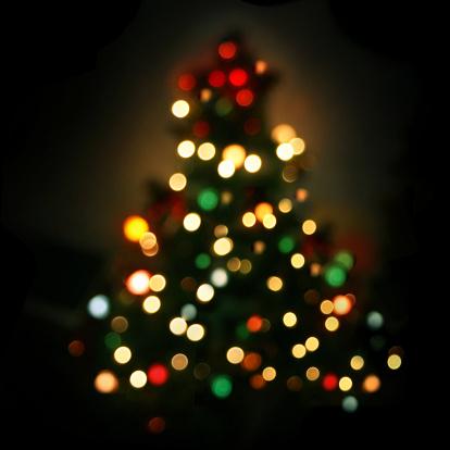 Christmas Tree - Defocused