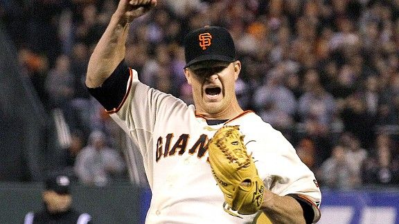 Matt Cain of the San Francisco Giants threw the 22nd perfect game in Major League Baseball history on June 13th, just one of quite a few pitching gems baseball fans have witnessed so far this year (photo credit: AP/Jeff Chiu)