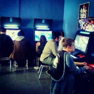 Gamecenter in San Mateo, CA is proof that arcades are still popular, active, and loved amongst the video gaming community (photo credit: Karen Datangel / karendatangel on Instagram).