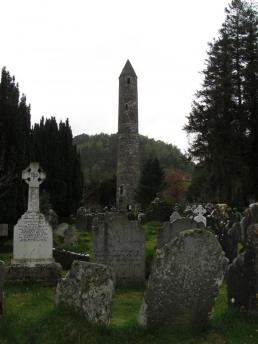 Saint Kevin's Monastic City in Glendalough, Ireland (2013). Image credit: Kathleen Horgan.