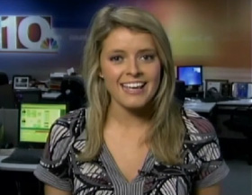 WIS New 10 morning reporter, Mary King