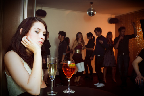 Dating a former party girl