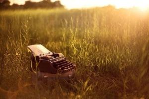 Typewriter WeHeartIt Sunset