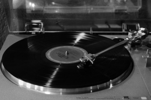 LP spinning