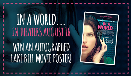 In a World Movie Poster Giveaway