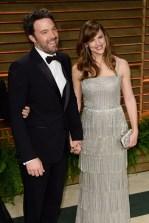 Ben Affleck: Armani // Jennifer Garner: Oscar de la Renta
