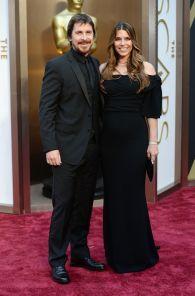 Christian Bale and Sibi: Dolce & Gabana