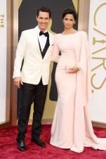 Matthew McConaughey: Dolce & Gabbana // Camila Alves: Gabriela Cadena