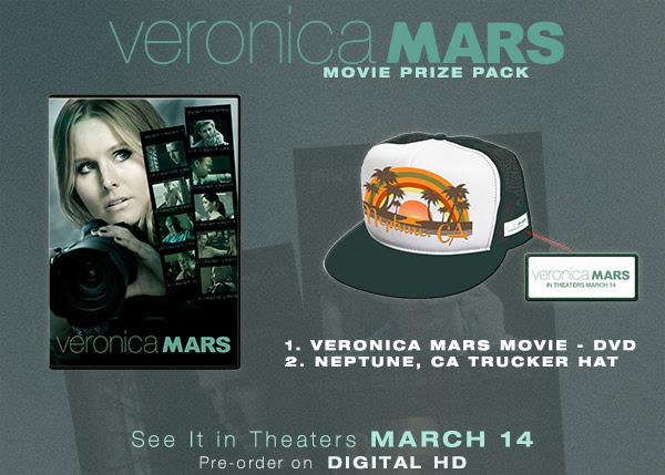 Veronica Mars Giveaway