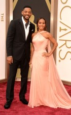 Will Smith: Berluti // Jada Pinkett Smith: Versace
