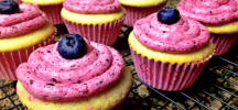 lemon-blueberry-cupcakes