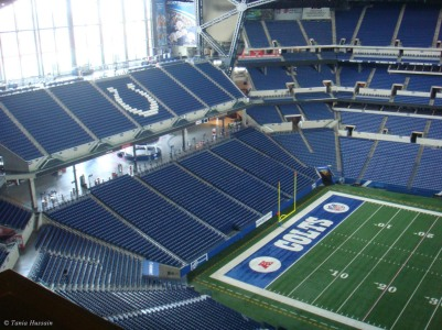 Lucas Oil Stadium: Interior