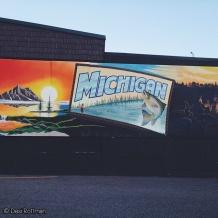 My favorite mural in downtown Grand Rapids.