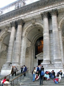 New York Public Library Steps