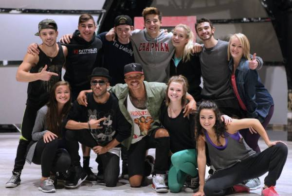 The SYTYCD Top 10 after rehearsals