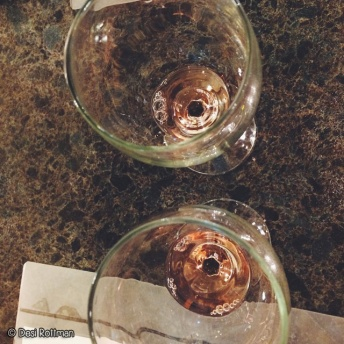 Wine tasting on the Rocky Top Wine Trail.