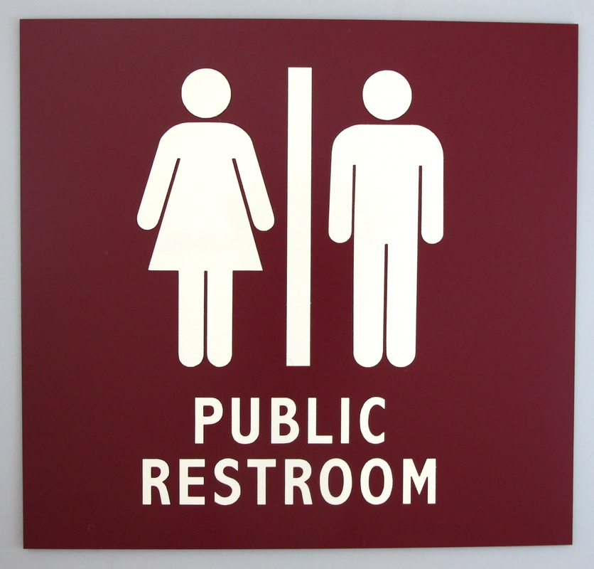 Bashful In The Bathroom As Gender Identities Become More Fluid - Public bathroom signs