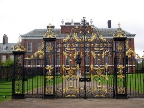 The Golden Gates at Kensington Palace