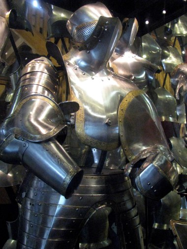 King Henry VIII's Armoury at Tower Of London