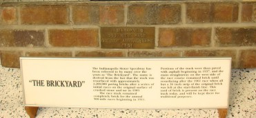 Brick from The Brickyard