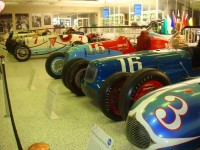 Race cars from the 40s.