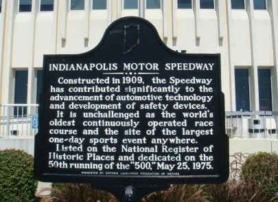 Indiana Historical Marker