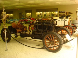 Some of the very first Indy 500 race cars.