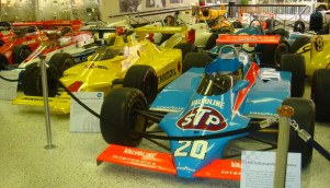 Up front is the winning race car driven by Gordon Johncock from the 66th Indianapolis 500 held at the Indianapolis Motor Speedway in Speedway, Indiana on Sunday, May 30, 1982.