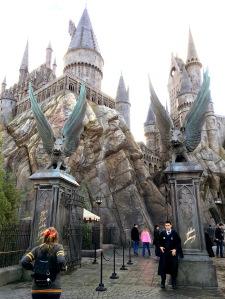 hogwarts wizarding world harry potter hollywood universal studios