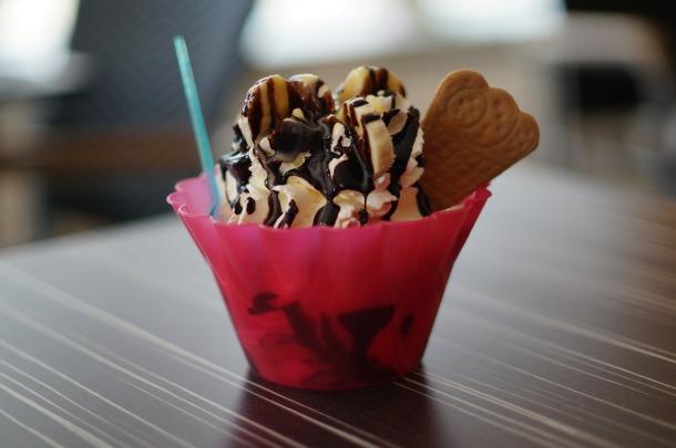 ice cream dessert cone