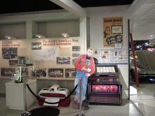 It's fellow Hoosier, James Dean leaning on the history wall!