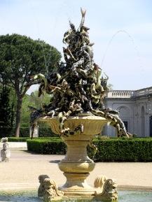 fontana fountain villa medici rome italy
