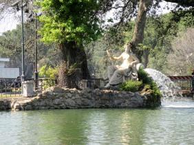 villa borghese tempio di esculapio rome italy