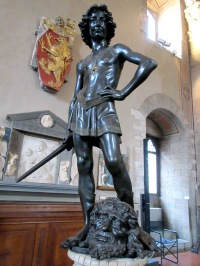 Bargello Verrocchio David