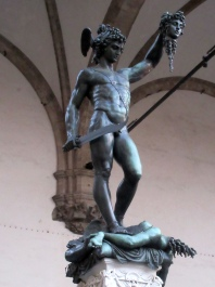 Loggia Lanzi Cellini Perseus Head Medusa