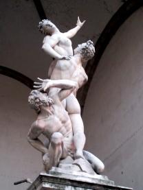 Loggia Lanzi Giambologna Rape Sabine Woman