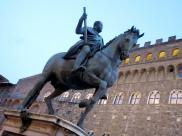 Piazza Signoria Giambologna Equestrian Monument Cosimo I