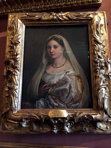 Pitti Palatina Raphael La Donna Velata