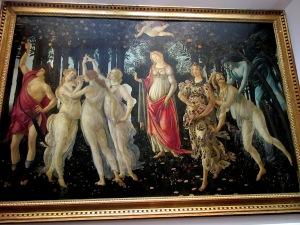 Uffizi Botticelli Primavera