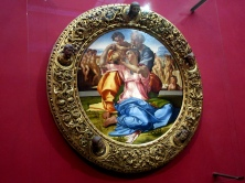 Uffizi Michelangelo Doni Tondo