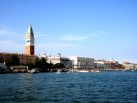 Skyline view of the island of Venice, Italy