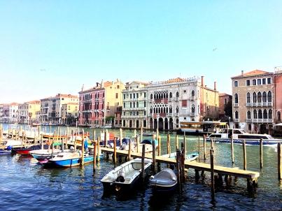 Dock in Venice, Italy