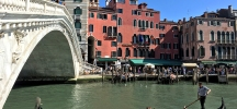 venice italy grand canal rialto bridge