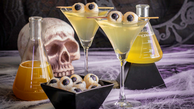 9 spooky and delicious cocktails to celebrate halloween the hudsucker. Black Bedroom Furniture Sets. Home Design Ideas