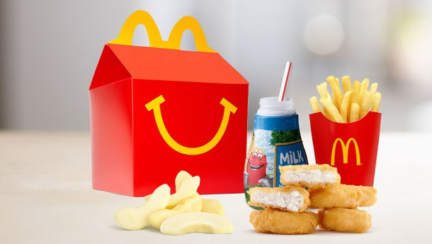 McDonald's Makes Major Changes To Its Happy Meals
