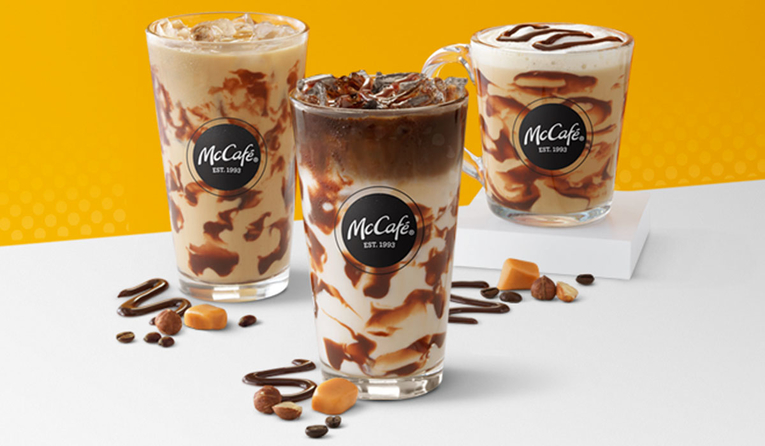 McDonald's Debuts New Collection of McCafé Drinks for Spring
