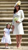 Kate Middleton and daughter, Princess Charlotte