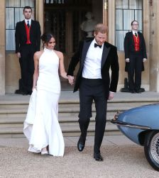 The Prince and his American bride dazzle ahead of the reception