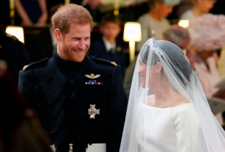 And it's official: Prince Harry and Meghan Markle are husband and wife.